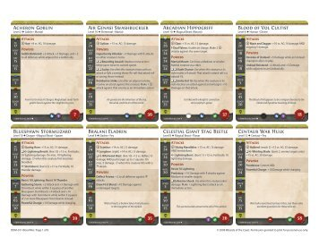 Card Template - DDM Guild