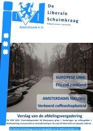 Liberale Schuimkraag van januari 2011 - Bandwerkplus.nl
