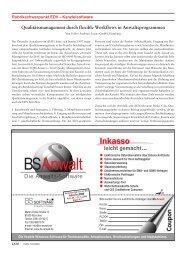 Qualitätsmanagement durch flexible Workflows in - LECARE