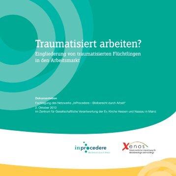 """Dokumentation Fachtagung """"Traumatisiert arbeiten ... - InProcedere"""