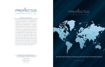 2012 Annual Report - Provectus Pharmaceuticals, Inc.