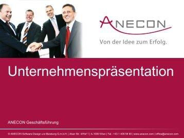 ANECON Software Design und Beratung G.m.b.H.