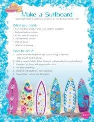 ~ake a Surfboard