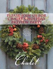 Holiday 2011 - Chalet Nursery