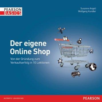 Der eigene Online Shop - Pearson Bookshop - Pearson Deutschland