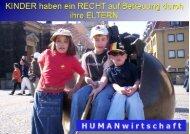 Grundrecht aller Kinder - Humanwirtschaftspartei