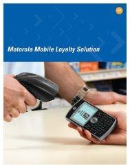 Motorola Mobile Loyalty Solution