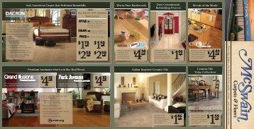 2$ 58 2$ 98 - McSwain Carpets and Floors