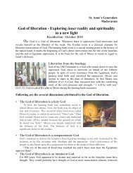 God of liberation - Exploring inner reality and spirituality in a new light