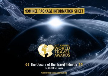 INfOrmaTION SheeT - World Travel Awards