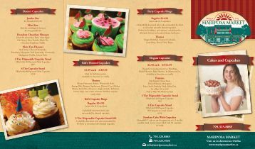 Cakes and Cupcakes - Mariposa Market