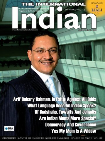 Arif Buhary Rahman - International Indian