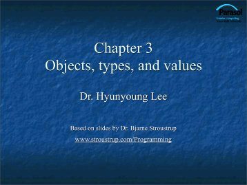 Objects, Types, and Values - TAMU Computer Science Faculty Pages