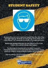 safety booklet - Queen Margaret University Students