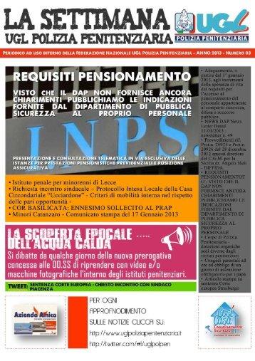 La settimana UGL Polizia Penitenziaria n 03.pdf