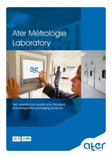 Ater Métrologie Laboratory - Sofrigam