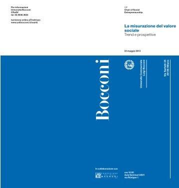Scarica l'invito al convegno (PDF) - Fondazione De Agostini