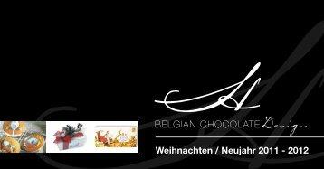 Weihnachten / Neujahr 2011 - 2012 - BELGIAN CHOCOLATE Design
