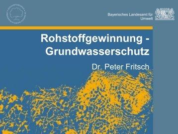 Rohstoffgewinnung - Grundwasserschutz - ipse-service.de