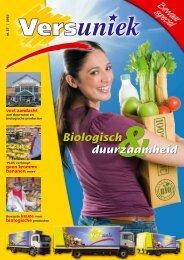 duurzaamheid Biologisch - Versunie