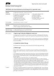 Sitzung 3/09 vom 15.09.09 - Departement Bau, Umwelt und Geomatik