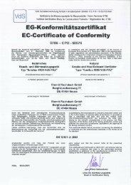 CE-Zertifikat - Eternit Flachdach GmbH