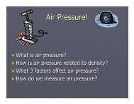 Air Pressure! - CCSD Blogs