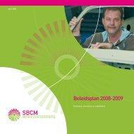 Beleidsplan 2008-2009 - SBCM