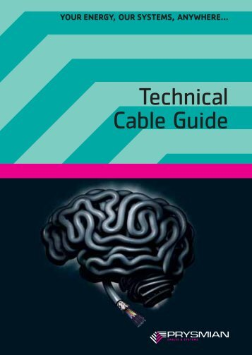 Download the cable guide - Prysmian