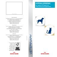 HYPOALLERGENIC - ROYAL CANIN Tiernahrung GmbH & Co. KG