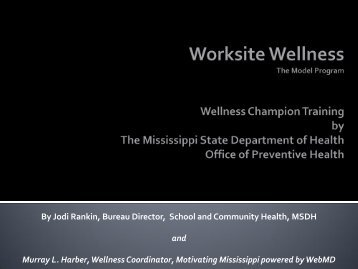 Worksite Wellness in Mississippi