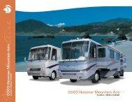 2003 Mountain Aire Class A & Diesel Pusher Brochure