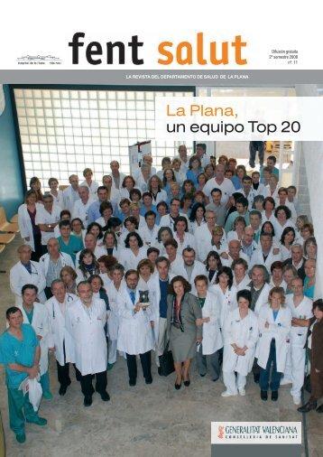 La Plana 11 Fent Salut - Hospital de la Plana