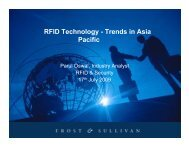 RFID Technology - Trends in Asia Pacific - National RFID Centre