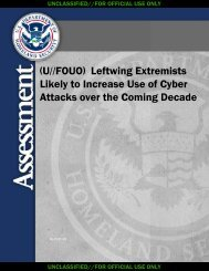 Leftwing Extremists Increase in Cyber Attacks