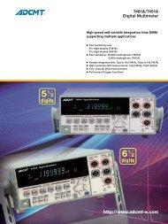 7461A/7451A Digital Multimeter - Rohde & Schwarz