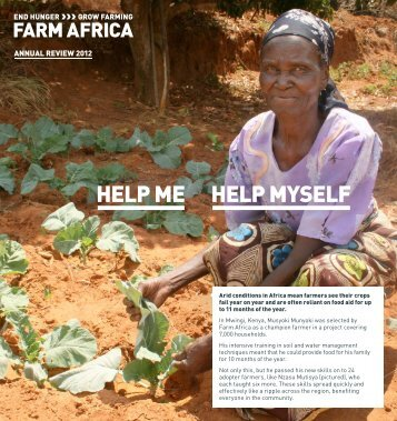 Annual review 2012 - Farm Africa