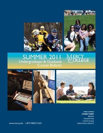 SUMMER 2011 - Mercy College
