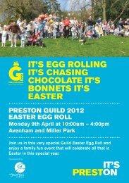 WELCOME TO PRESTON GUILD 201 - Visit Lancashire