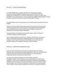 ARTICLE 1 - SOCIETE ORGANISATRICE La société FEERIK SAS ...
