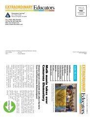 Extraordinary Educators Newsletter - Renaissance Learning