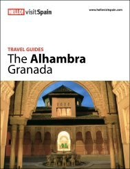 Travel guides.The Alhambra Granada - HELLO! visit Spain