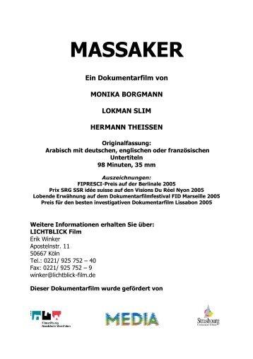 MASSAKER - unlimited-films.net