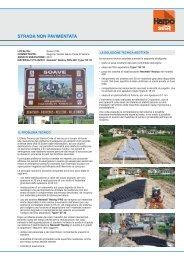 Realizzazione strada non pavimentata – Soave - Harpo spa