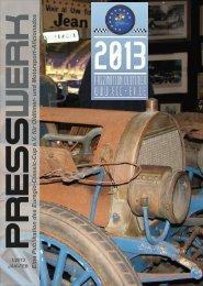 PRESSWERK Vol. 1/2013 - Euregio-Classic-Cup