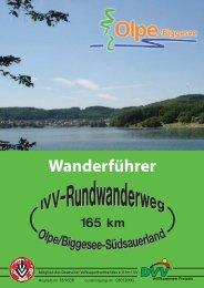 Wanderführer - Verkehrsverein Olpe