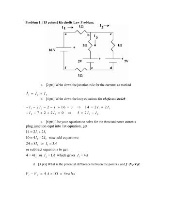 Solutions to the Sample Exam Questions