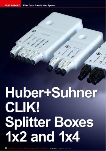 Test Report CLIK! - Fiber In The Home