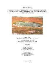 BIBLIOGRAPHY VERNAL POOLS AND ... - VernalPools.Org