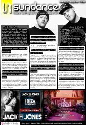 Events Insert - The Ibiza Sun